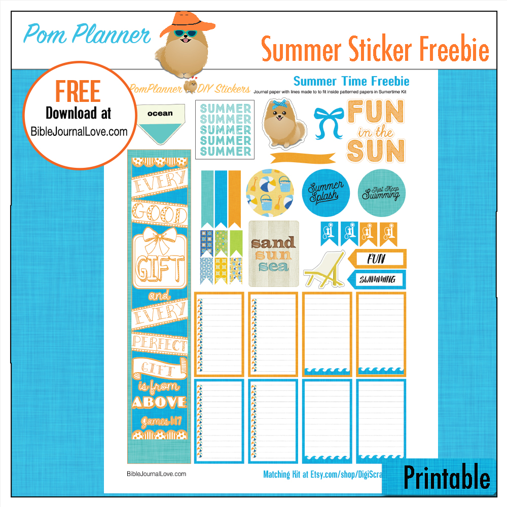 This is an image of Freebie Planner pertaining to freebie friday
