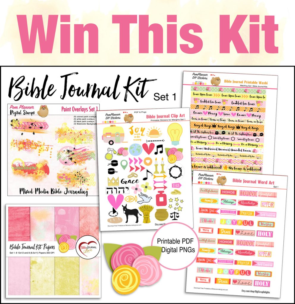 Preferred Win this Bible Journal Kit – Bible Journal Love IS83